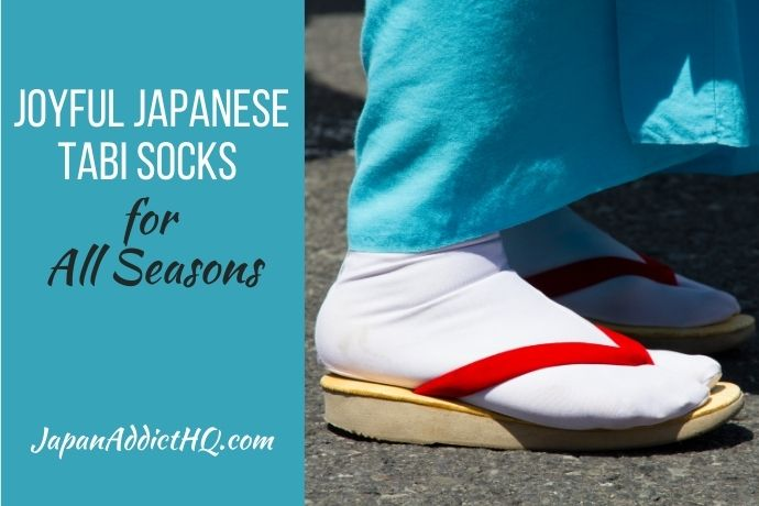 Joyful Japanese Tabi Socks for All Seasons